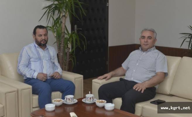 Rektör Akgül, Karaman Ağır Ceza Mahkemesi Başkanını Ağırladı