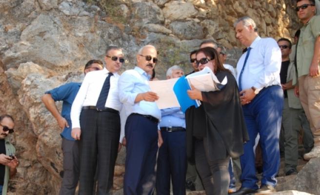 Bakan Elvan'dan Cennet ve Cehennem Mağaraları İçin Güzel Haberler