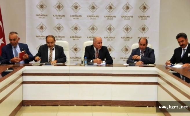 İl İdare Şube Başkanları Toplantısı Gerçekleştirildi