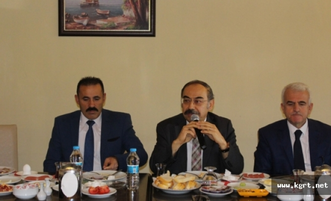 Karaman'da Okul Sporları Bilgilendirme Toplantısı Yapıldı