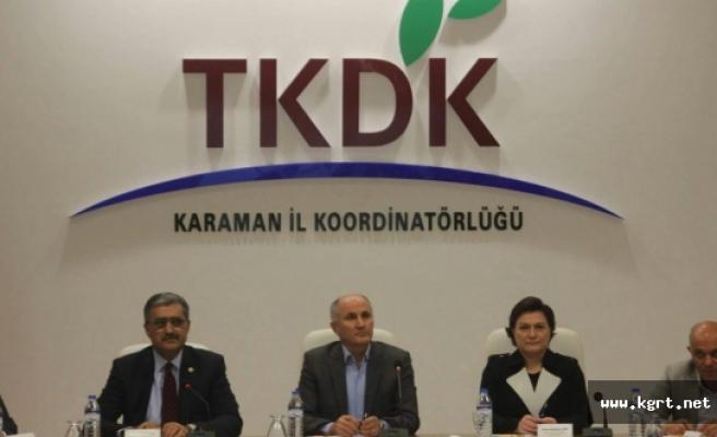 Meclis Tarım Orman Ve Köyişleri Komisyonu Üyeleri Karaman İçin Bir İlki Gerçekleştirdiler