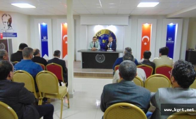 SGK İl Müdürlüğü Bilgilendirme Toplantısı Mali Müşavirler Odasında Yapıldı