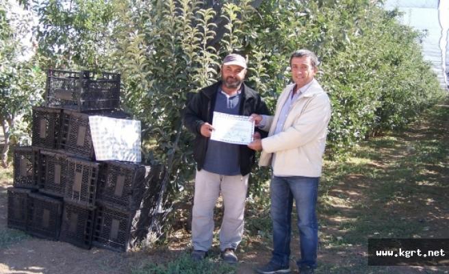 Tarım Bakanlığından, Elma Bahçelerine Mavi Bayrak