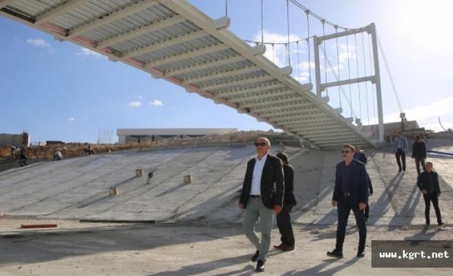 """Başkan Çalışkan: """"Karaman Tarihinin En Büyük Sosyal Ve Yeşil Alan Projesini Hayata Geçiriyoruz"""""""