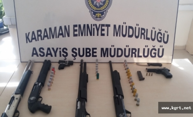 Karaman'ın Huzurunu Bozmak İsteyene Emniyet'ten Geçit Yok