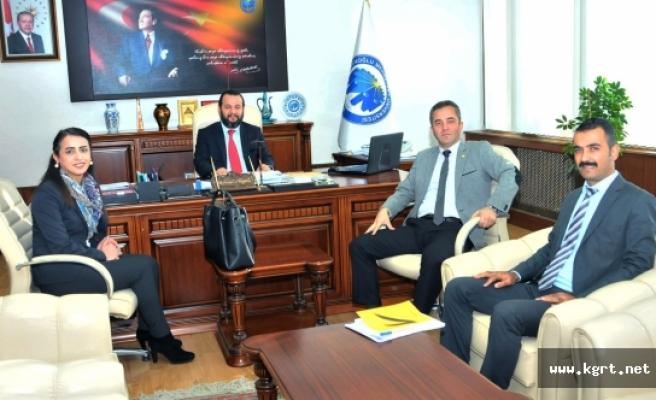 Vakıfbank Karaman Şubesinden Rektör Akgül'e Ziyaret