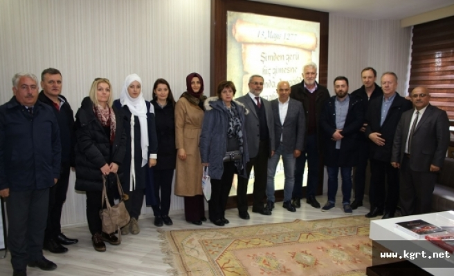 Bosna Hersek Heyetinden Belediyeye Ziyaret