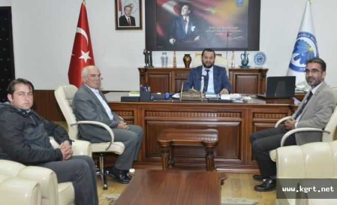 Ermenekli İşadamı Hasan Kalan'dan Rektör Akgül'e Ziyaret