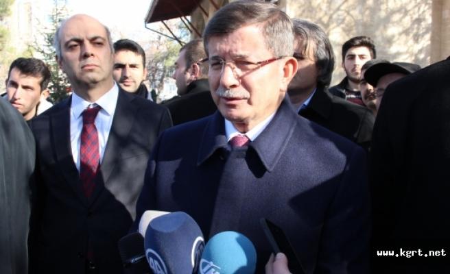 Eski Başbakan Davutoğlu: Kudüs'süz Filistin, Kudüs'süz Barış Olamaz, Olmayacak