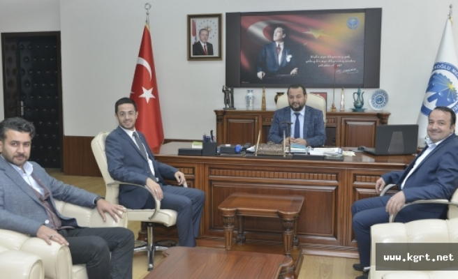 Genç MÜSİAD İl Başkanından Rektör Akgül'e Ziyaret