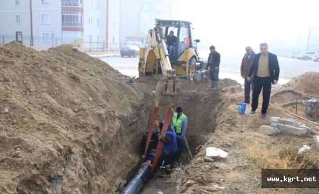 Yağmur Suyu Biriken Bölgelerde Altyapı Çalışması Tamamlandı
