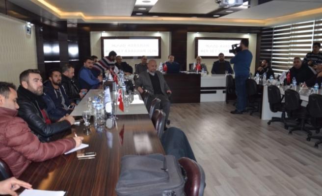 MÜSİAD Başkanı Cevher: OSB'nin Durumu İyi. Küçük Esnaf Sıkıntıda