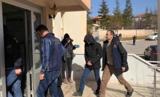 Karaman'da 5 FETÖ Zanlısı Daha Adliyeye Sevk Edildi