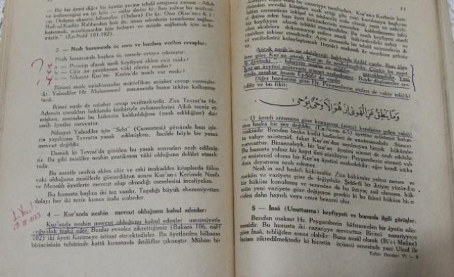 Cumhurbaşkanı Erdoğan'ın 45 Yıllık Ders Kitabı Tesadüfen Ortaya Çıktı