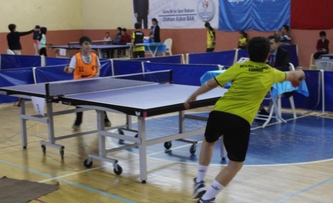 Okullar Arası Küçükler Masa Tenisi Müsabakaları Sona Erdi