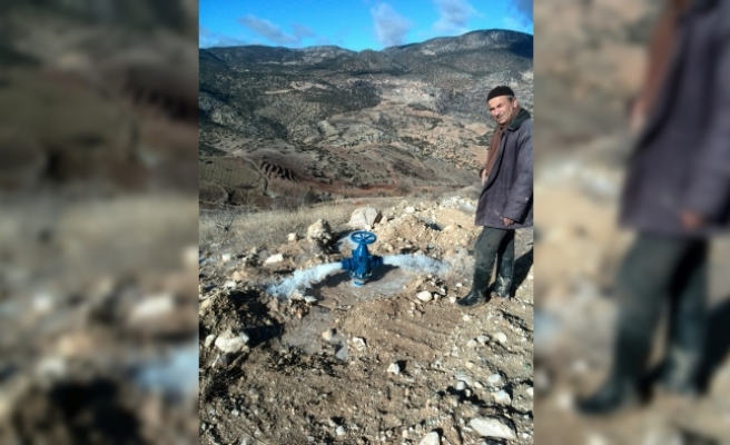 Karaman'da Dağlık Alanlardaki Arazilerde Sulu Tarıma Geçiliyor