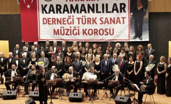 Karamanlılar Derneği Türk Sanat Müziği Korosu 1 Mayıs'ı Muhteşem Konserle Kutluyor