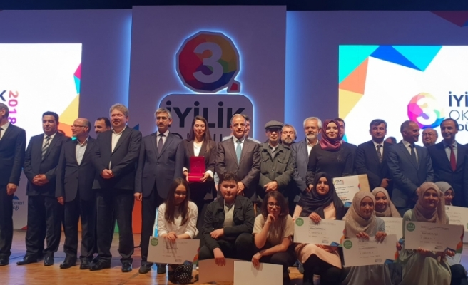 """""""İyilik Okulları"""" Projesinde İlimize İki Türkiye Birinciliği"""