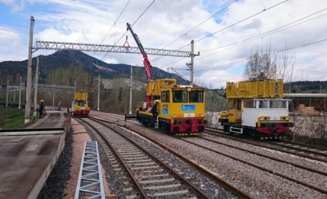 Konya - Karaman Tren Hattında Yüksek Gerilim Uyarısı
