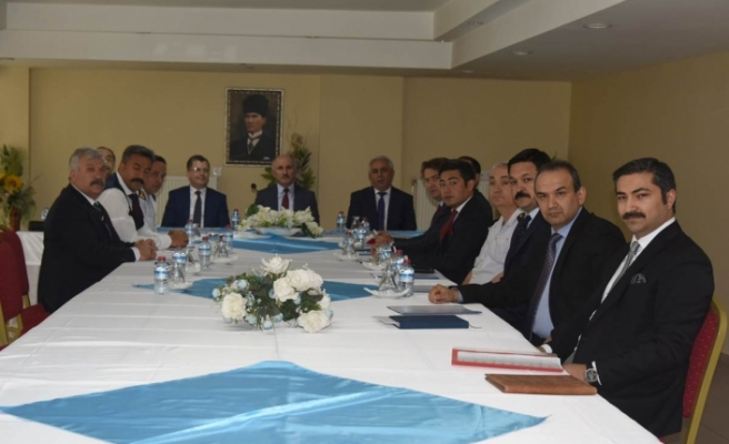 Seçim Güvenliği Toplantısı Yapıldı