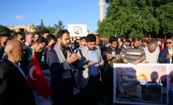 Sivil Toplum Platformundan Gazze'de Yapılan Katliama Tepki Yürüyüşü