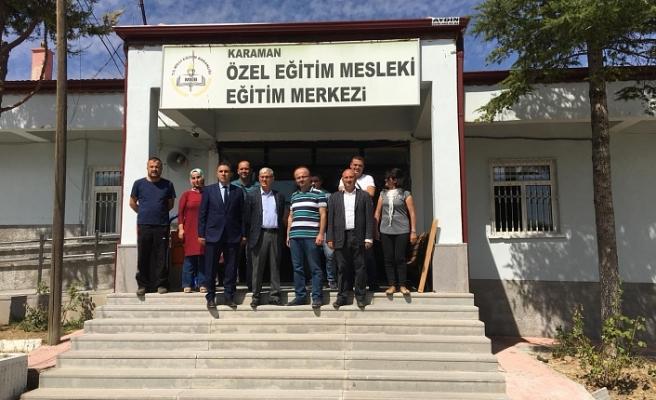 Özel Eğitim Mesleki Eğitim Merkezi'nin İhtiyaçları Yerinde İncelendi