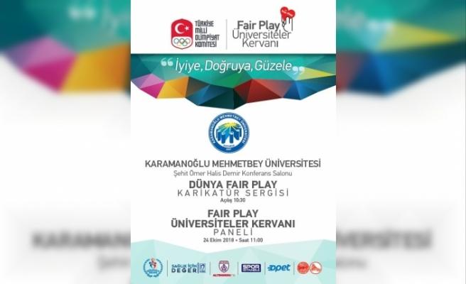 Fair Play Kervanı KMÜ'de