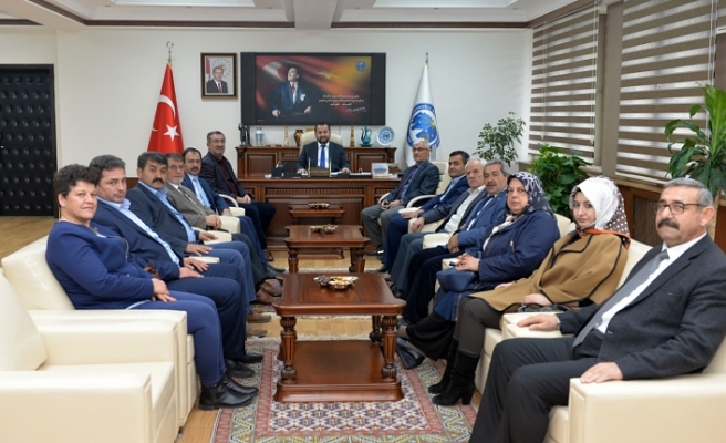 İl Genel Meclis Üyelerinden Ziyaret