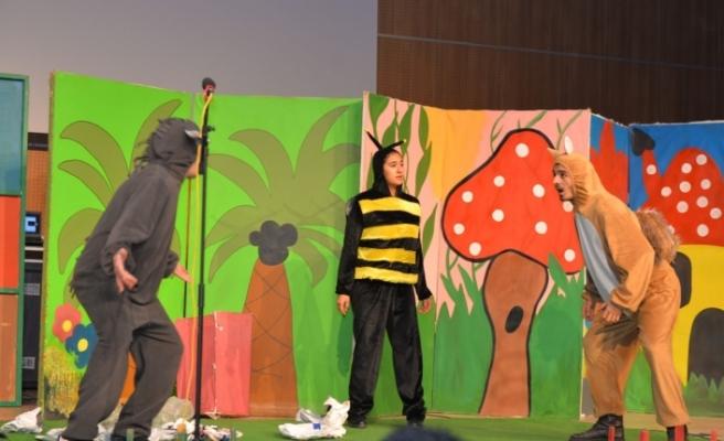 KMÜ'de Engelliler İçin Tiyatro Gösterisi Yapıldı