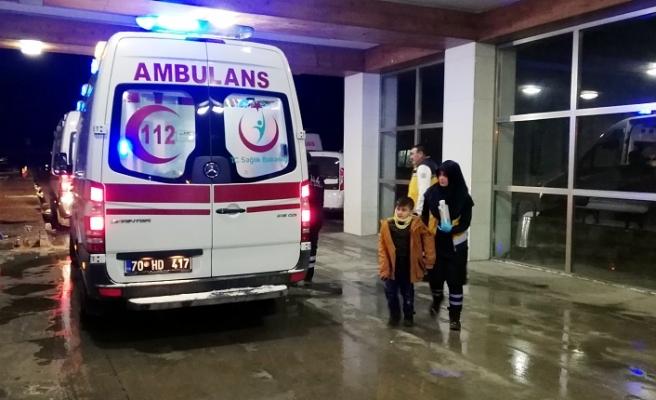 Buzlanma Kazası: 3'ü Çocuk 6 Yaralı
