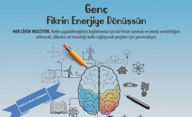 """Altı İlde """"Genç Fikrin Enerjiye Dönüşsün"""" Proje Yarışması Başlatıldı"""