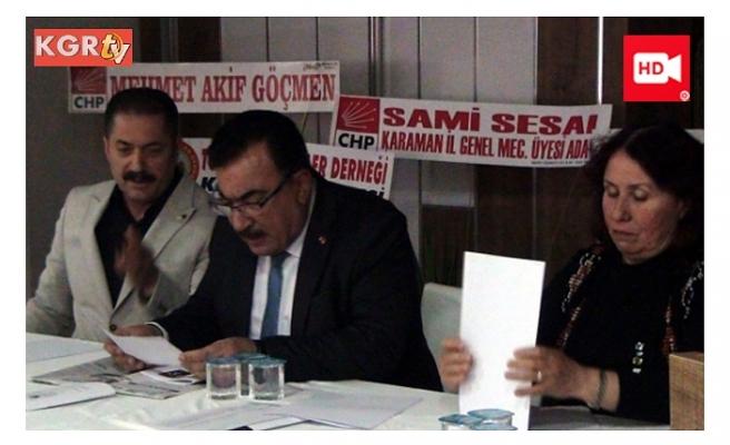 ADD Karaman Başkanı Şanlıtürk Güven Tazeledi