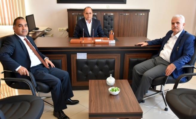Kuntoğlu ve Başmüfettiş Macit Altun Okulları Ziyaret Etti