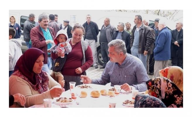 Başkan Zorlu'dan Halil İbrahim Sofrası