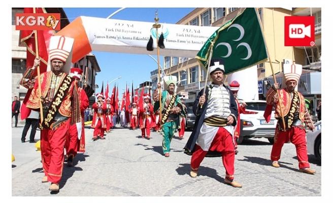 742. Türk Dil Bayramı ve Yunus Emre'yi Anma Etkinlikleri Devam Ediyor