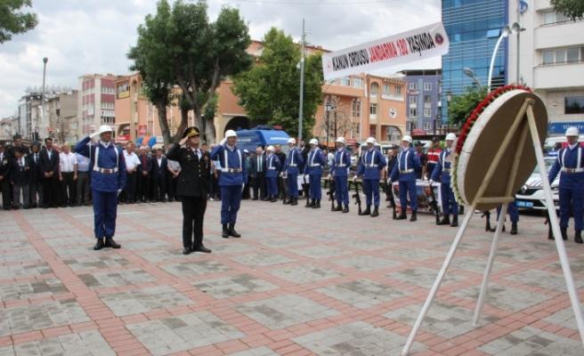 Jandarma Teşkilatı 180. Kuruluş Yıl Dönümü Kutlandı