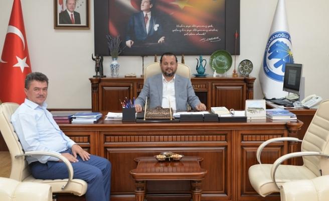 Başkan İpek'ten Rektör Akgül'e Nezaket Ziyareti