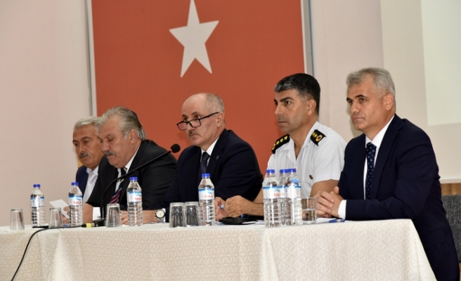 2019-2020 Eğitim-Öğretim Yılı Güvenlik Toplantısı Yapıldı