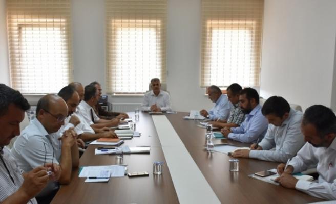 İlçe Milli Eğitim Müdürleri Toplantısı Gerçekleştirildi