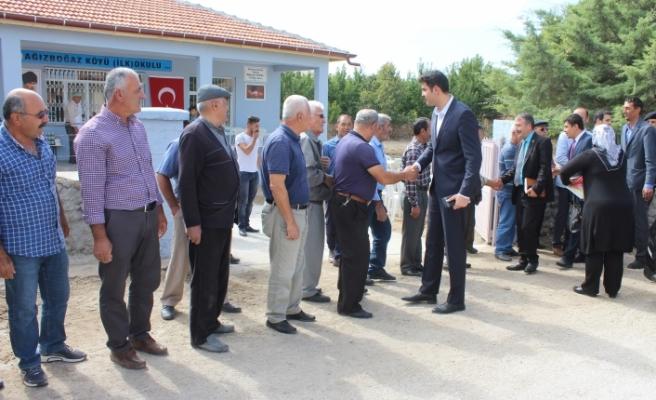 Ağızboğaz Köyünde İlkokul Binası Açılışı Yapıldı