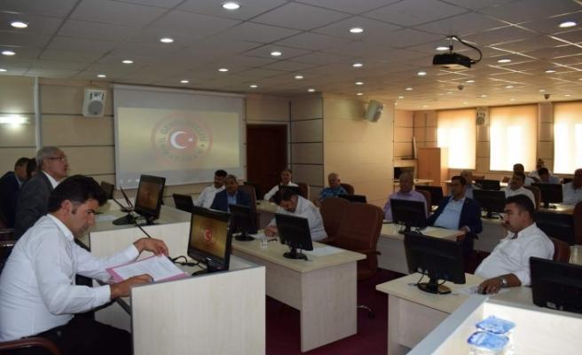İl Genel Meclisinde Ekim Ayı Toplantıları Başladı