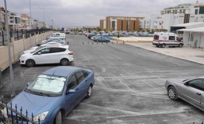 Karaman Devlet Hastanesinde Yenileme Çalışmaları Devam Ediyor