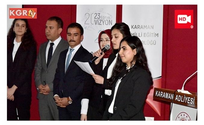 """Hâkim ve Savcı Adaylarından """"Anadoluyum Ben""""Şiir Dinletisi"""