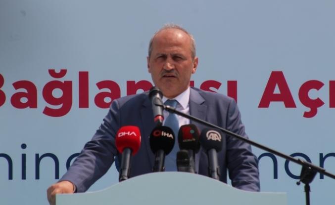 Bakan Turhan:Yılda Ortalama 135 Kilometre Demir Yolu Yapma Başarısına Ulaştık