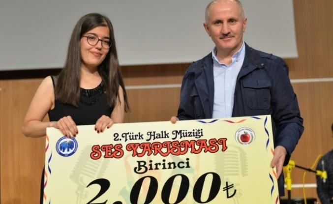 2. Türk Halk Müziği Ses Yarışmasışampiyon Belli Oldu