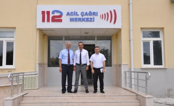 Sağlık Müdürü Kurşun'dan ASM ve 112 Ziyareti