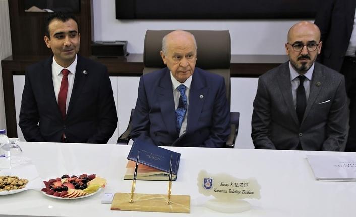 """MHP Lideri Devlet Bahçeli """"Karaman Her şeyin En Güzeline Layıktır"""""""