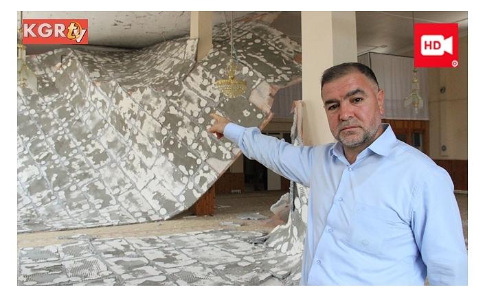 Abdülhamit Camisinin Tavanı Çöktü