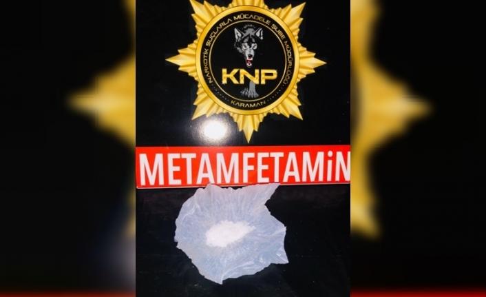 Karaman'da Metamfetamin Uyuşturucu Ele Geçirildi